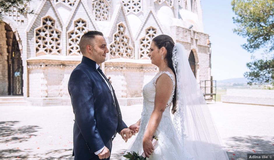 La boda de Angel y Marta en Montferri, Tarragona
