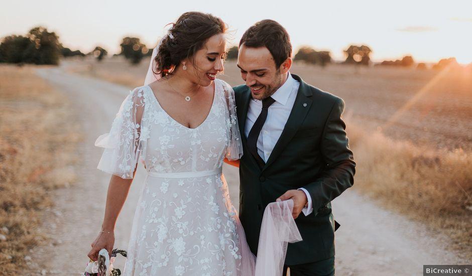 La boda de Ángel y Aurora en Herencia, Ciudad Real
