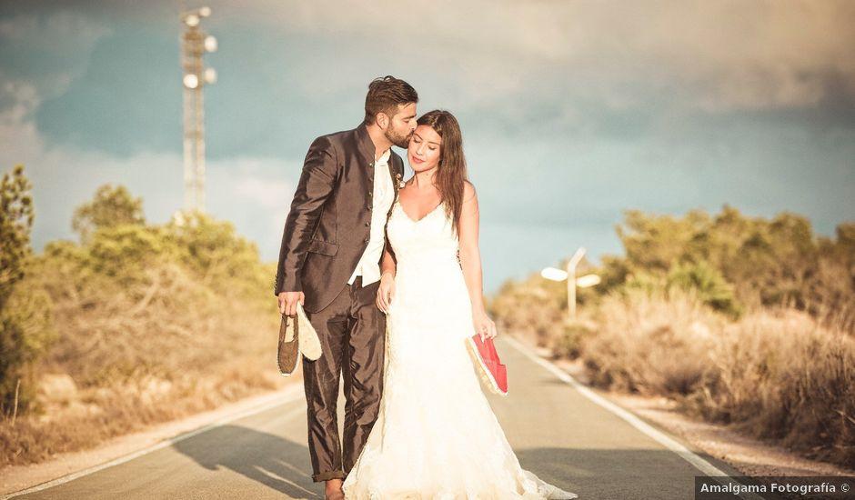 La boda de Pablo y Celina en Daya Vieja, Alicante