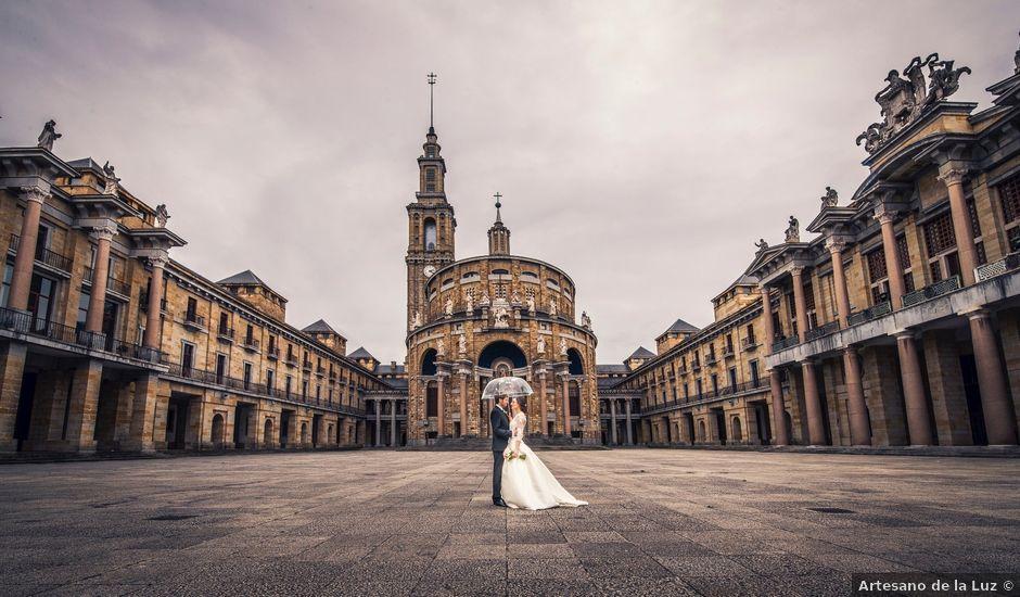 La boda de Aitor y Vero en Cabueñes, Asturias