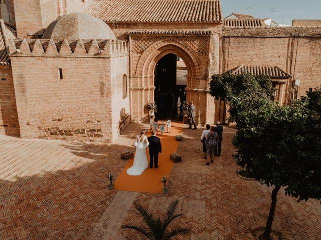 La boda de Mª Carmen  y Borja  en Palos De La Frontera, Huelva 2