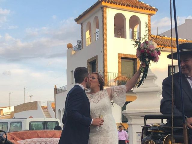 La boda de Mª Carmen  y Borja  en Palos De La Frontera, Huelva 6