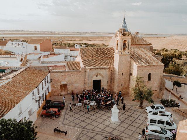 La boda de Mª Carmen  y Borja  en Palos De La Frontera, Huelva 7