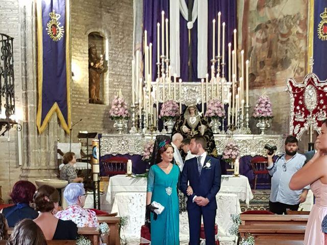 La boda de Mª Carmen  y Borja  en Palos De La Frontera, Huelva 17