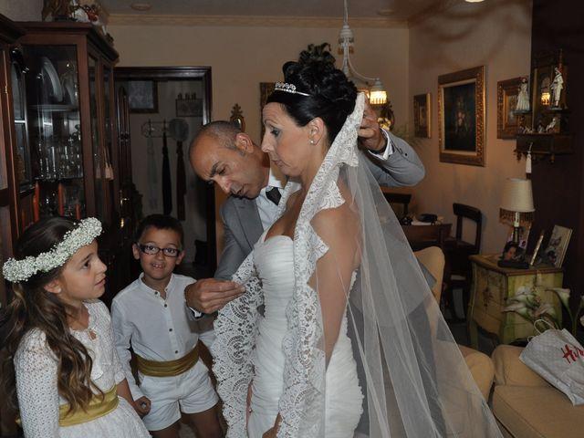 La boda de Virginia y Jose Antonio en San Fernando, Cádiz 1