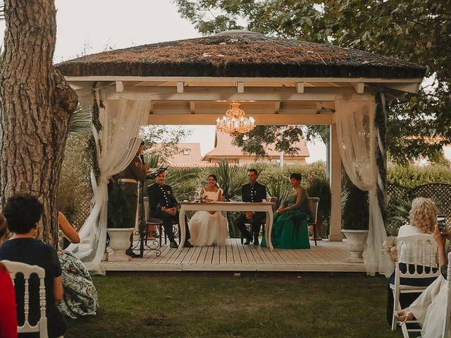 La boda de David y Rocío en Griñon, Madrid 23