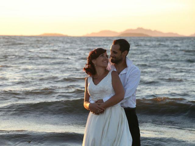 La boda de Abraham y Tere en Baiona, A Coruña 1