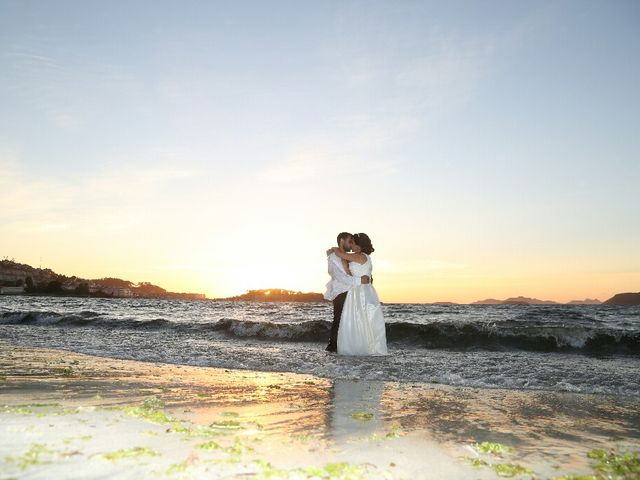 La boda de Abraham y Tere en Baiona, A Coruña 9