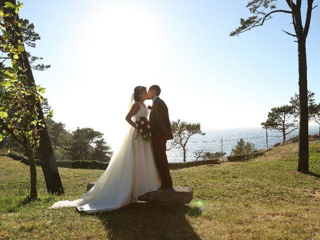 La boda de Abraham y Tere en Baiona, A Coruña 21