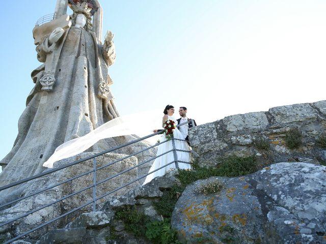 La boda de Abraham y Tere en Baiona, A Coruña 22