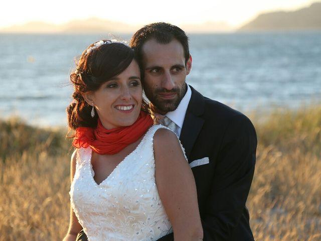 La boda de Abraham y Tere en Baiona, A Coruña 34