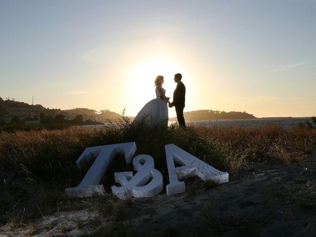 La boda de Abraham y Tere en Baiona, A Coruña 36