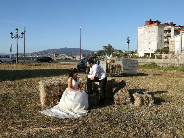 La boda de Abraham y Tere en Baiona, A Coruña 38