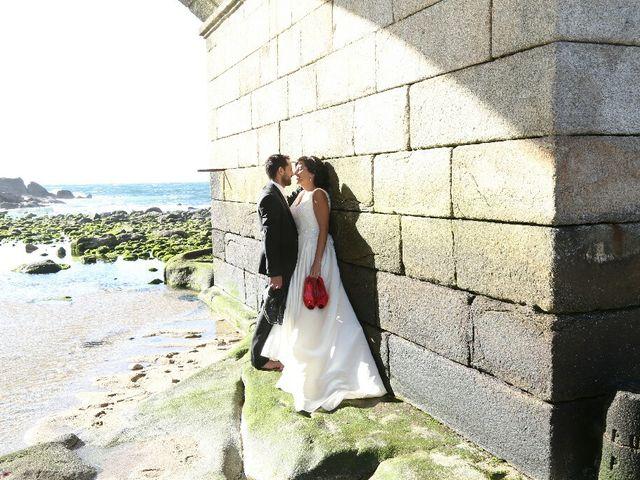 La boda de Abraham y Tere en Baiona, A Coruña 41