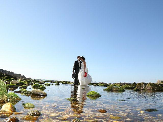 La boda de Abraham y Tere en Baiona, A Coruña 42