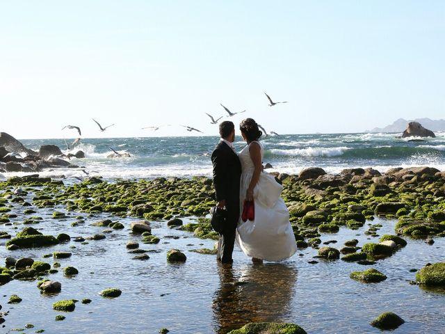 La boda de Abraham y Tere en Baiona, A Coruña 43