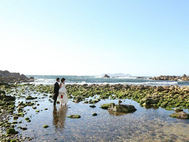 La boda de Abraham y Tere en Baiona, A Coruña 44