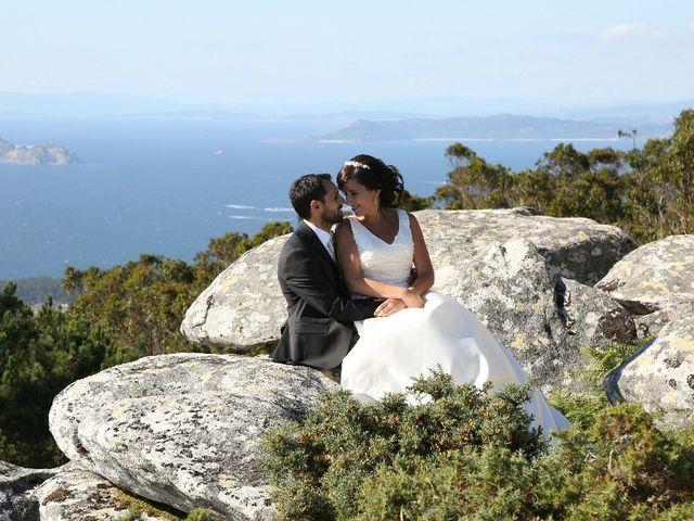 La boda de Abraham y Tere en Baiona, A Coruña 45