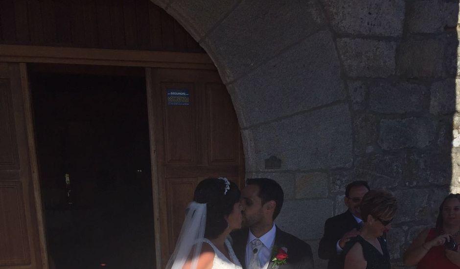 La boda de Abraham y Tere en Baiona, A Coruña