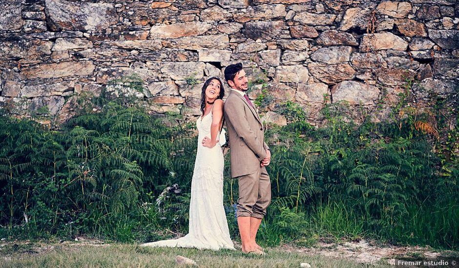 La boda de Lino y Paz en Boiro, Asturias