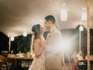 La boda de David y Melanie
