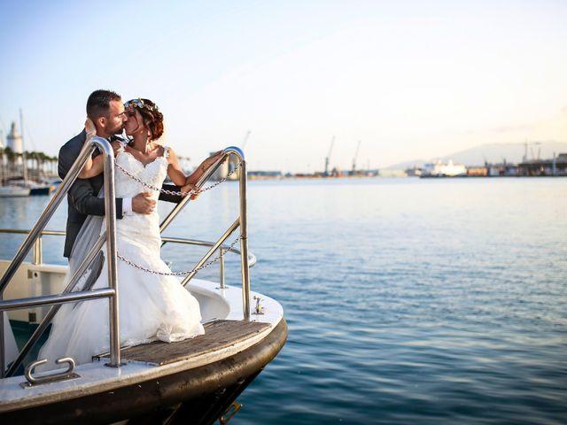 La boda de Alvaro y Lucia en Málaga, Málaga 23