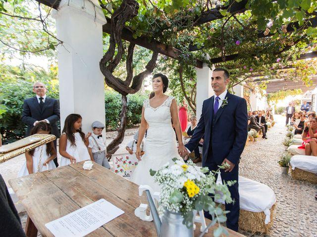 La boda de Anna y Giuseppe