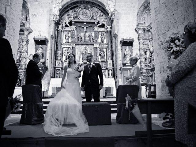 La boda de Javi y Laura en Villerías De Campos, Palencia 15