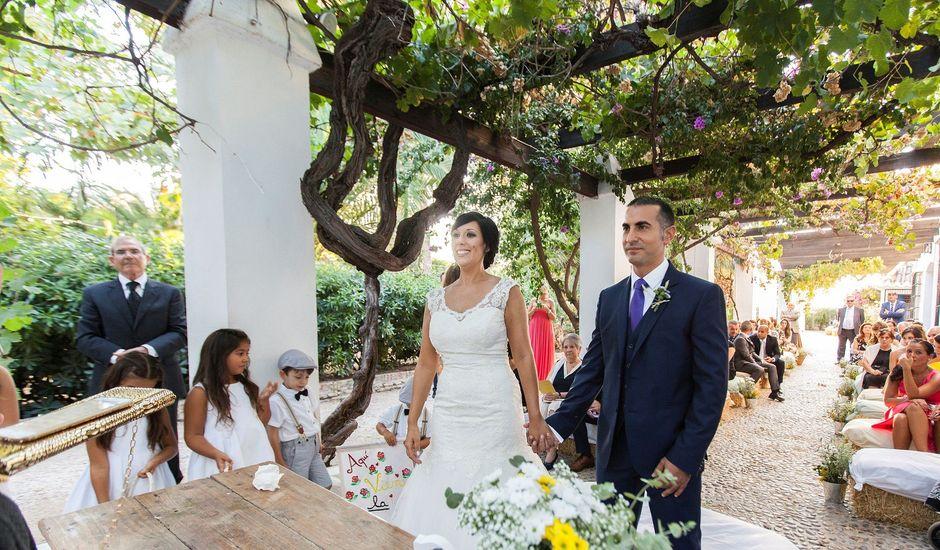 La boda de Giuseppe y Anna en Alboraya, Valencia