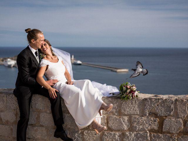 La boda de Jonathan y Lorena en Cala De San Vicente Ibiza, Islas Baleares 33