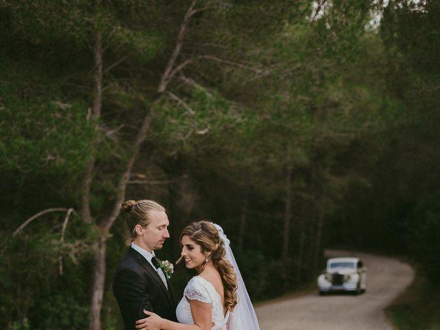 La boda de Jonathan y Lorena en Cala De San Vicente Ibiza, Islas Baleares 34