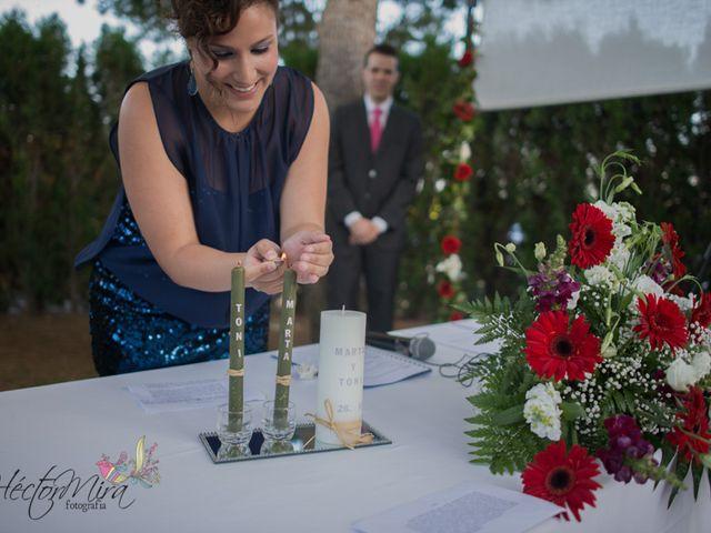 La boda de Toni y Marta en Onda, Castellón 89