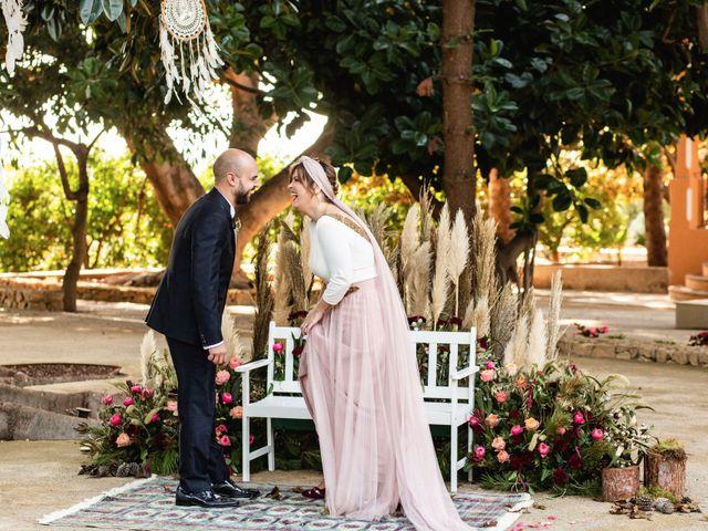 La boda de Carlos y Aurea en Castelló/castellón De La Plana, Castellón 23