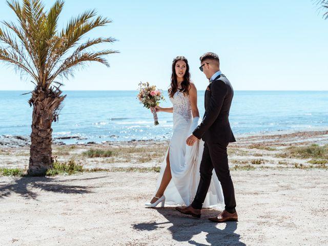 La boda de Lucho y Nina en Santa Pola, Alicante 16