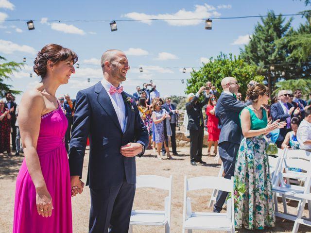 La boda de Alberto y Patricia en Torrelodones, Madrid 45