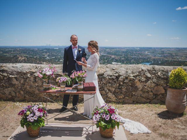 La boda de Alberto y Patricia en Torrelodones, Madrid 67