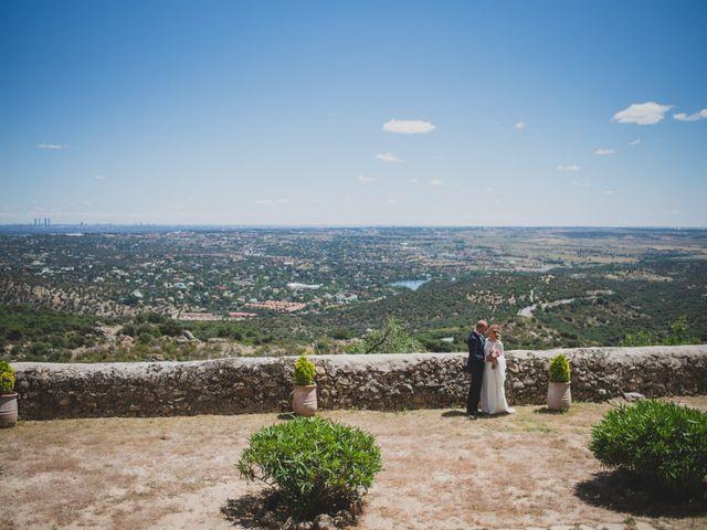 La boda de Alberto y Patricia en Torrelodones, Madrid 85