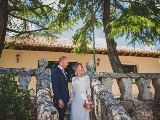 La boda de Alberto y Patricia en Torrelodones, Madrid 86