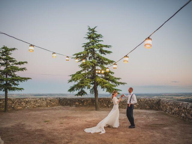 La boda de Alberto y Patricia en Torrelodones, Madrid 176