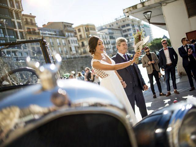 La boda de Rebeca y Iñaki en Donostia-San Sebastián, Guipúzcoa 34
