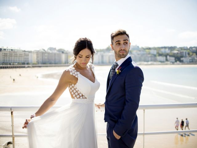 La boda de Rebeca y Iñaki en Donostia-San Sebastián, Guipúzcoa 58