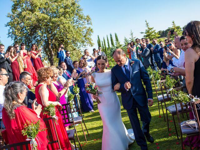 La boda de Miguel y Silvia en Tarancon, Cuenca 27