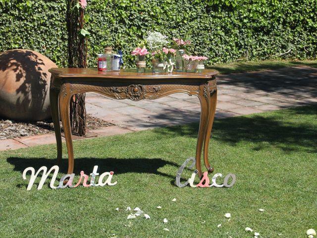 La boda de Cisco y Marta en La Garriga, Barcelona 3