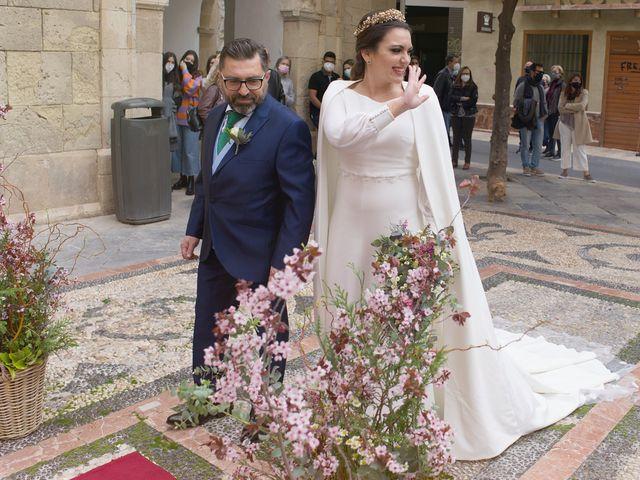 La boda de Alba  y Vicente en Murcia, Murcia 22