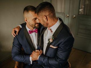 La boda de Jonatan y Marçal