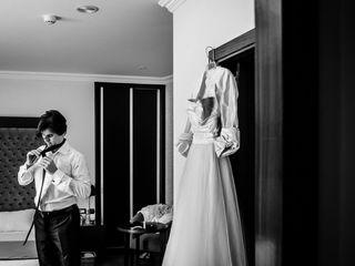 La boda de Mónica y Stéphane 1