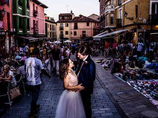 La boda de Mónica y Stéphane