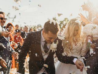 La boda de Andrada y Dani
