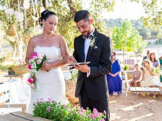 La boda de Cristina y Pau