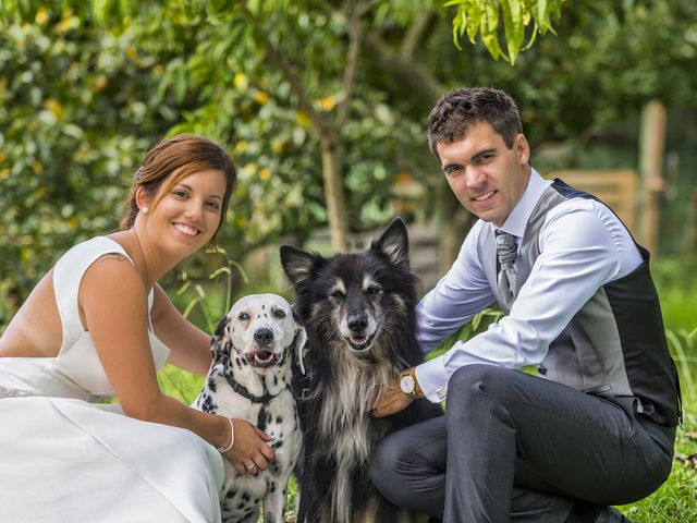 La boda de Janire y Iñigo